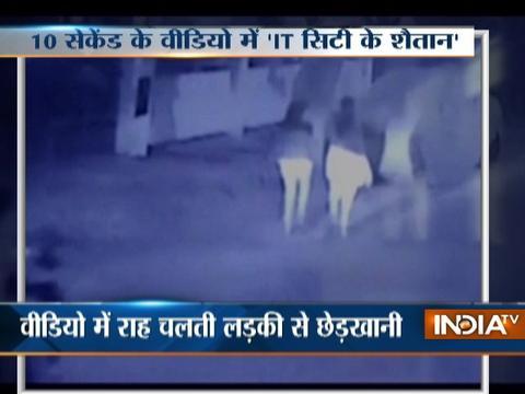 Bikers caught molesting girls on camera in Bengaluru