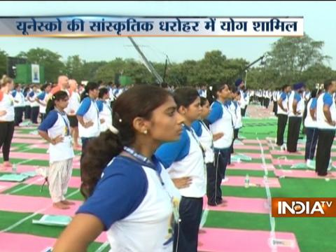 Yoga joins UNESCO world heritage list
