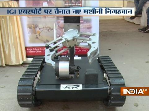 Security upgraded at IGI Airport in Delhi
