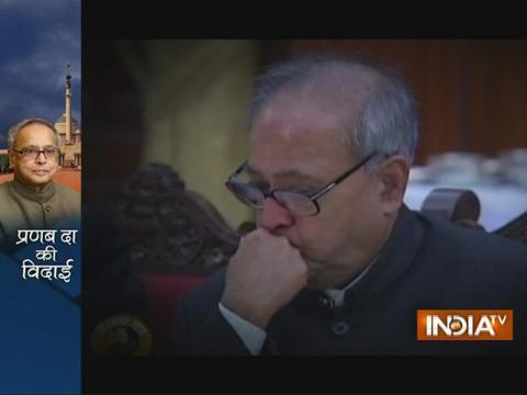 A look at 5 years of President Pranab Mukherjee as he leaves office
