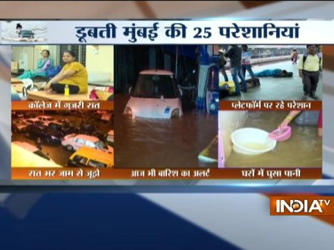 Maharashtra: Heavy rainfall begins again in Mumbai