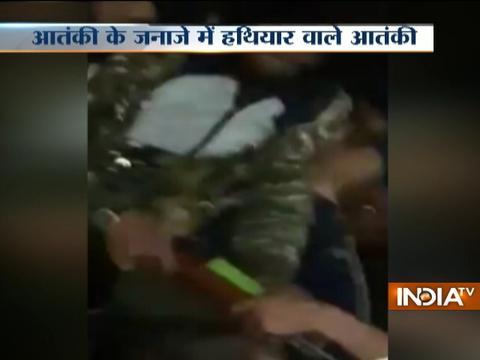 Viral: Kashmir Witnesses Gun Salute At Terrorist's Funeral