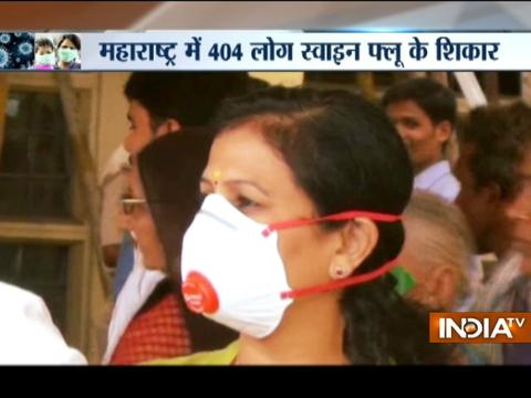Maharashtra, UP and Gujarat grapples with swine flu, Over 900 Hospitalised