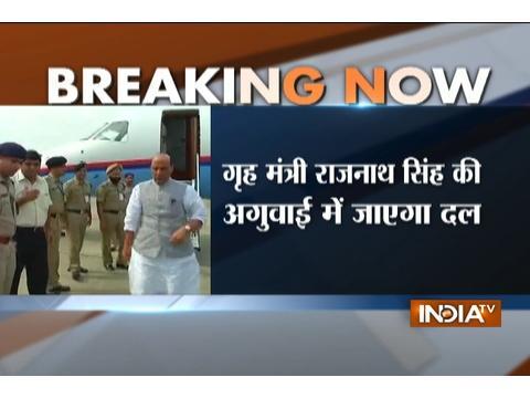 Rajnath-led All Party Delegation to visit Srinagar on Sept 4