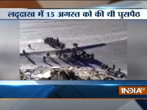 India foiled China's incursion bid at Ladakh's Pangong lake, video released