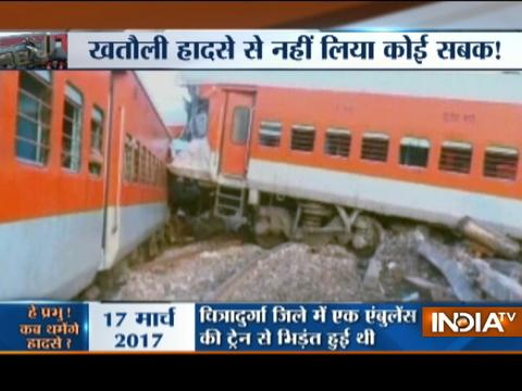 Days after Utkal Express accident, Kafiyat express derails near Auraiya