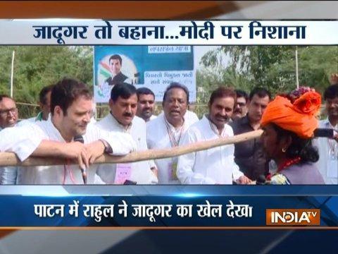 PM Modi a jadugar who has been tricking people: Rahul Gandhi in Gujarat