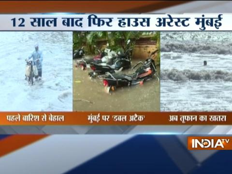 Mumbai Rains: Heavy rainfall cripples normal life in Mumbai