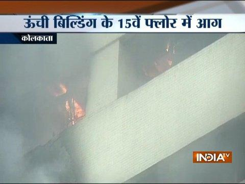 Jivan Sudha building catches fire in Kolkata