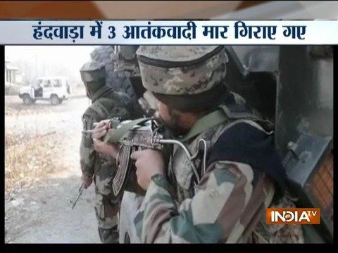Jammu and Kashmir: Security forces gun-down 3 terrorists in Handwara