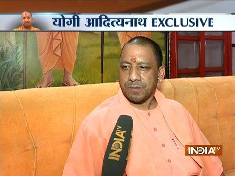 India TV Exclusive Interview with UP CM Yogi Adityanath on Taj Mahal controversy