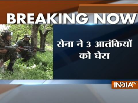 J&K: Encounter underway between security forces and militants in Pulwama