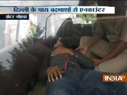 Three gangsters held after shootout in Greater Noida