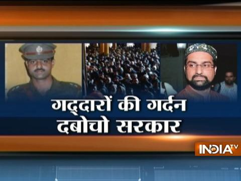 Kashmiri separatist leader Mirwaiz was inside DSP Ayub Pandith lynched in Srinagar
