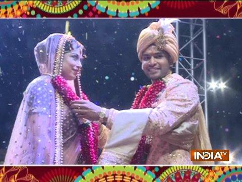 Naman Shah ties the knot with his best friend Neha Mishra
