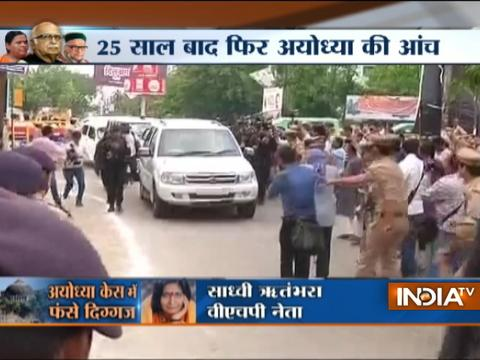 Babri Case: LK Advani, Uma Bharti, MM Joshi to appear before court shortly