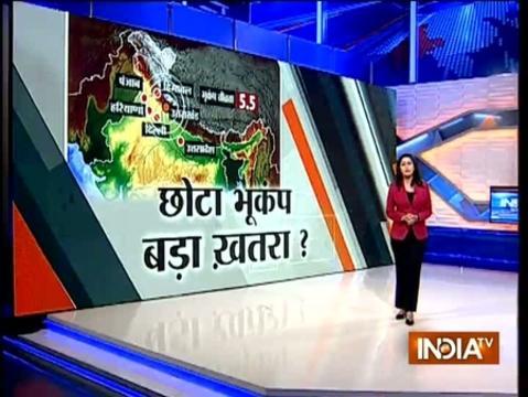 5.5 magnitude earthquake jolts Uttarakhand, strong tremors felt in Delhi-NCR, UP