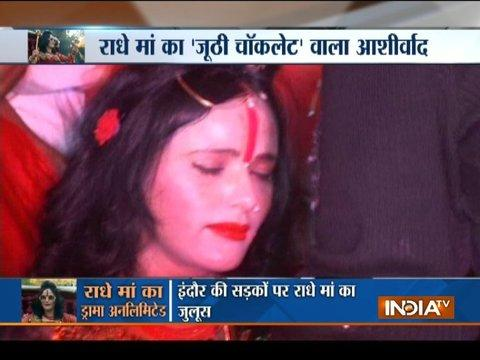 Indore: Dance video of controversial woman Radhe Maa