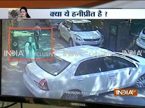 CCTV: Did Honeypreet Insan visit her lawyer's office in Delhi?