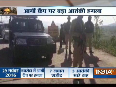 3 soldiers killed in militant attack on army camp in Kashmir's Kupwara, Search operation on