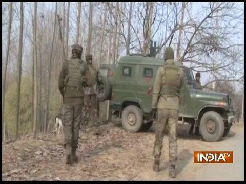 One Army Jawan injured as encounter continues between terrorists and Army in Qazigund