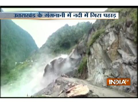 Rishikesh-Badrinath highway closed-down for 15 hrs due to landslide