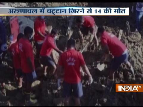 14 people feared dead in massive landslide in Arunachal Pradesh