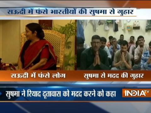 Sushma Swaraj assures help to stranded Indian in Saudi Arabia