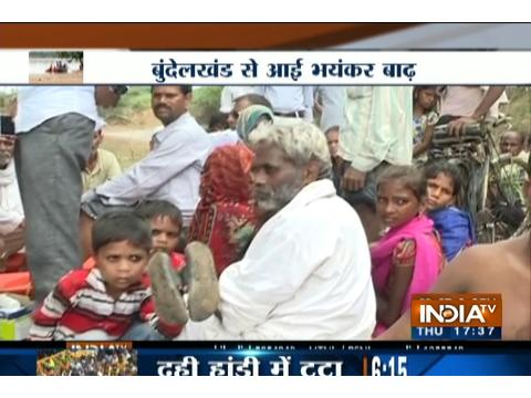 Madhya Pradesh: Floods hit life in districts of Bundelkhand due to heavy
