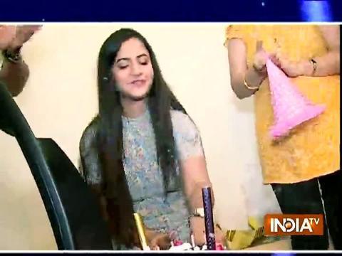 Meera Deosthale aka Chakor celebrates her birthday with SBAS team.