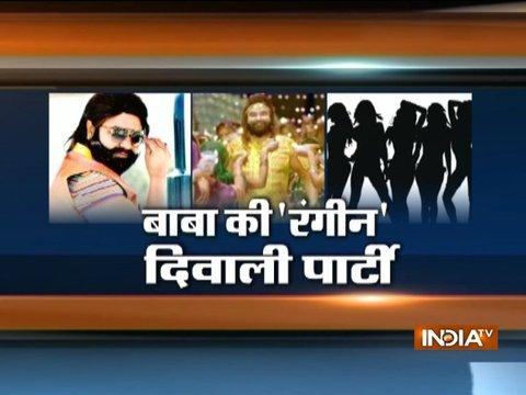 This is how Ram Rahim use to celebrate diwali before being arrested