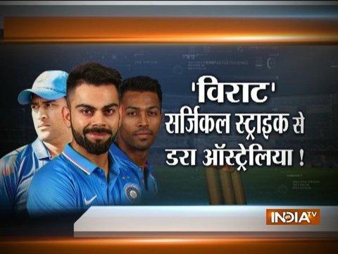 Team India eye record winning streak against beleaguered Australia in 4th ODI