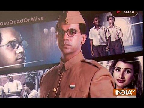Bose Dead/Alive: Rajkummar Rao reveals interesting details of the web series