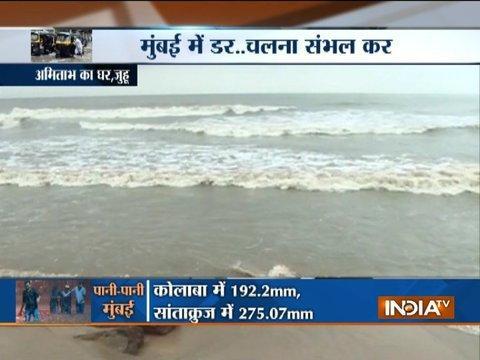 Mumbai rains: Massive waterlogging in various parts of Mumbai