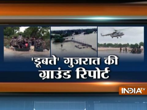 Floods wreck havoc in several parts of Gujarat, Indian army jumps into action