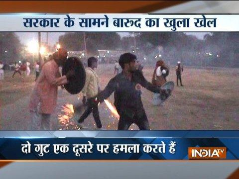 Madhya Pradesh: Over 30 injured in traditional 'Hingot Yuddha' in Indore