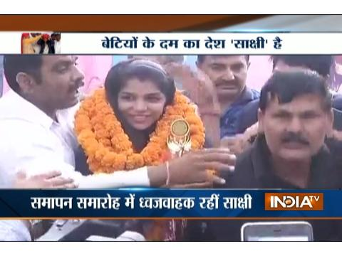 Haryana eyes to welcome Rio Olympics bronze medal winner Sakshi Malik