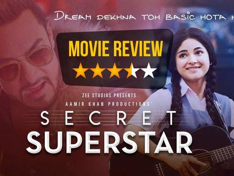 Secret Superstar Movie Review: Aamir Khan takes a backseat while Zaira Wasim is the 'hero' of the film