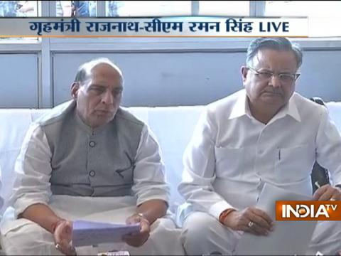 We assure action against Sukma attack: HM Rajnath Singh during press conference