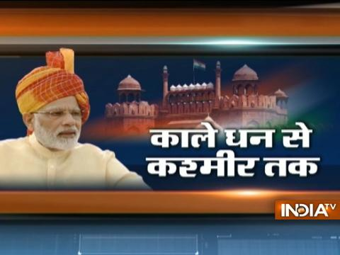PM Modi speaks on Kashmir, Gorakhpur tragedy, black money and other issues