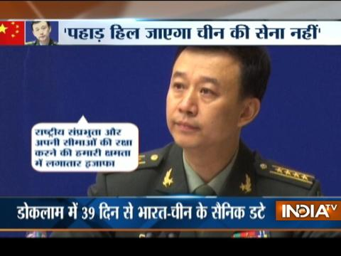 China sends a warning message to India over Doklam border standoff