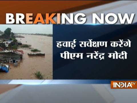 PM Narendra Modi to undertake aerial survey of Gujarat's flood-hit areas