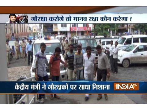 JDU attacks BJP over Ramdas Athawale's remark on dalits harrasment
