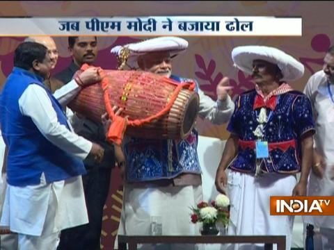PM Modi inaugurates first National Tribal Carnival
