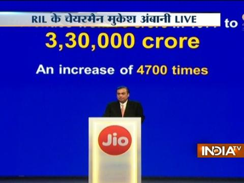 Reliance 40th AGM: Mukesh Ambani launches Reliance Jio feature phone