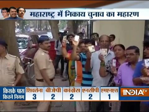 Polling begins for BMC, nine other civic bodies in Maharashtra