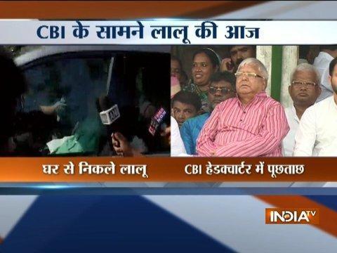 CBI to quiz Lalu Yadav in IRCTC tender case