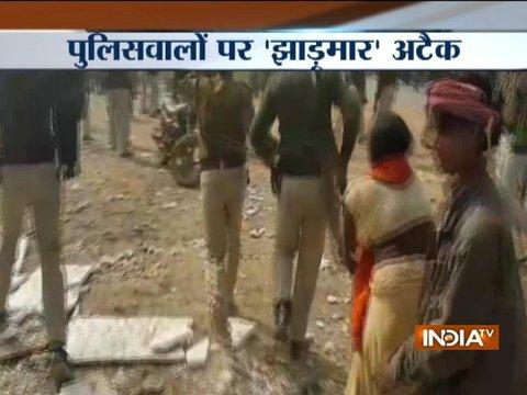 Property dealer murdered in Faridabad, women attack cops by 'jhadu' in Patna
