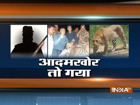 Maharashtra: Villagers shot-down man eater leopard in Jalgaon