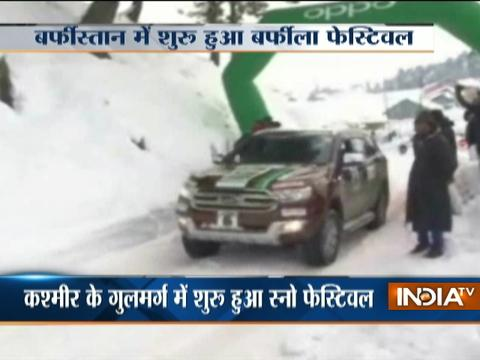 Jammu and Kashmir: Off-Road Snow Fest held at Gulmarg